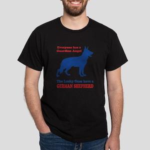 German Shepherd Guardian Angel T-Shirt