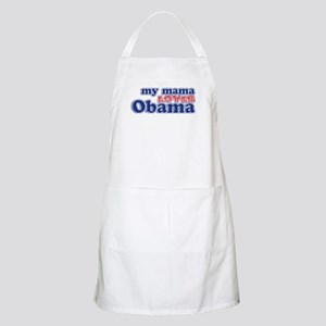 My Mama Loves Obama BBQ Apron