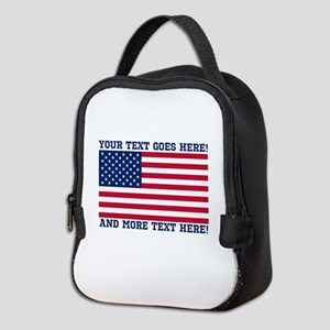 Personalized Patriotic American Flag Classic Neopr