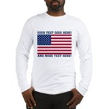 American flag Long Sleeve T-shirts