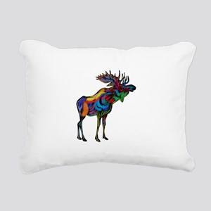 MOOSE Rectangular Canvas Pillow