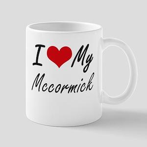 I Love My Mccormick Mugs