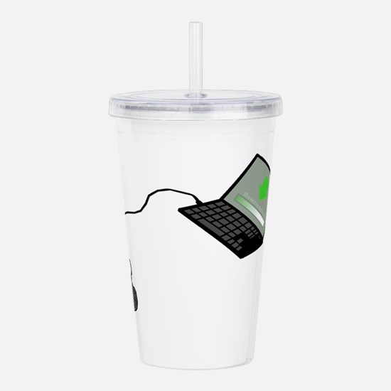 Cute Installer Acrylic Double-wall Tumbler