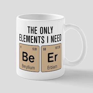 Beer Chemistry Elements Mugs
