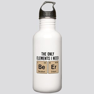Beer Chemistry Element Stainless Water Bottle 1.0L