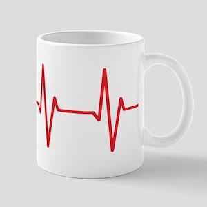 Sheltie Heartbeat Mugs