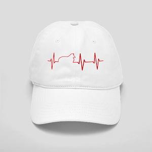 Sheltie Heartbeat Cap