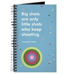 Big shot polka dot journal