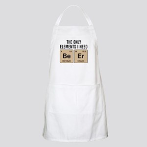 Beer Chemistry Elements Light Apron