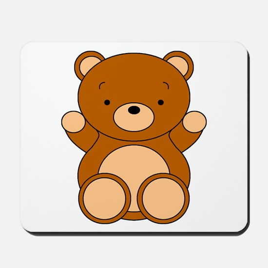 Cute Cartoon Bear Mousepad