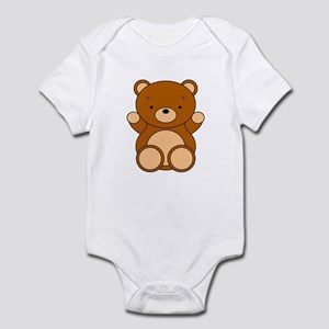 Cute Cartoon Bear Infant Bodysuit