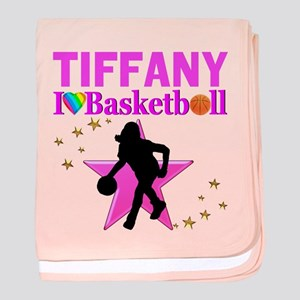 BASKETBALL STAR baby blanket