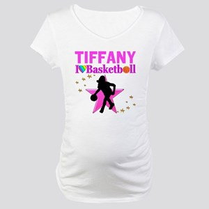 BASKETBALL STAR Maternity T-Shirt