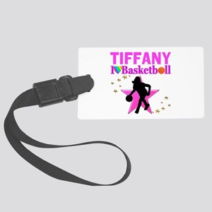 BASKETBALL STAR Large Luggage Tag