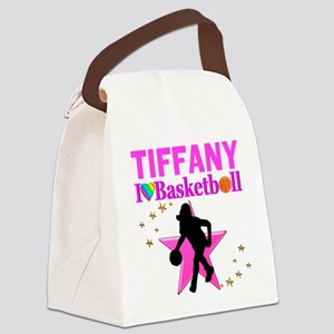 BASKETBALL STAR Canvas Lunch Bag