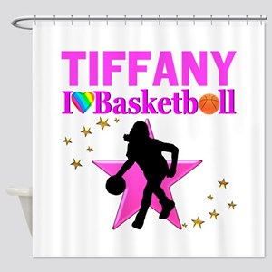 BASKETBALL STAR Shower Curtain