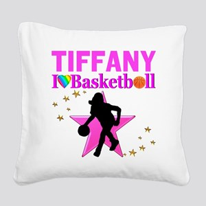 BASKETBALL STAR Square Canvas Pillow