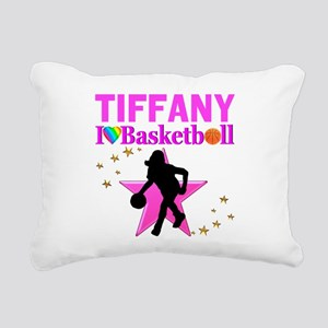 BASKETBALL STAR Rectangular Canvas Pillow