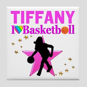 BASKETBALL STAR Tile Coaster