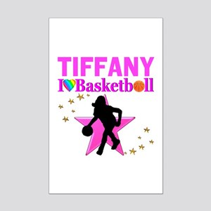 BASKETBALL STAR Mini Poster Print