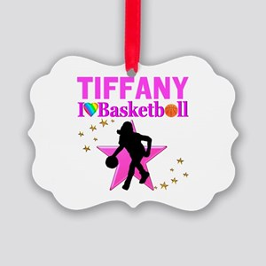 BASKETBALL STAR Picture Ornament