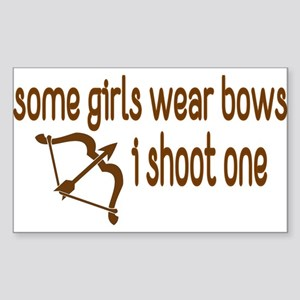 I Shoot Bow Sticker