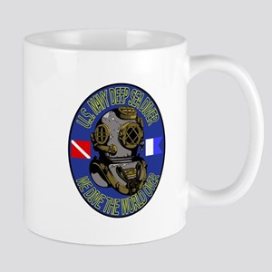 NAVY DIVER Large Mugs