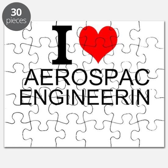 I Love Aerospace Engineering Puzzle