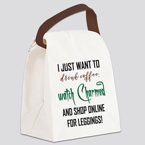 SHOP ONLINE Canvas Lunch Bag