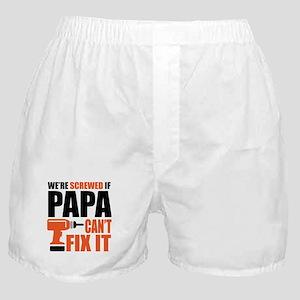 Papa Can Fix It Boxer Shorts