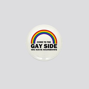 Gay Side Mini Button