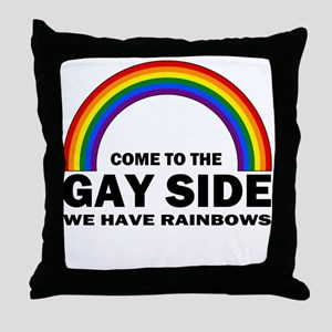 Gay Side Throw Pillow