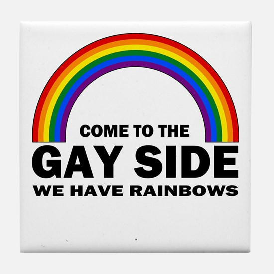 Gay Side Tile Coaster