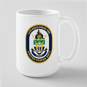 LCS Squadron 1 Crest Large Mug