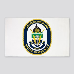LCS Squadron 1 Crest Area Rug