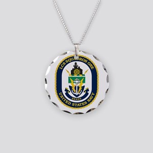LCS Squadron 1 Crest Necklace Circle Charm