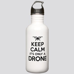 Keep Calm Drone Stainless Water Bottle 1.0L
