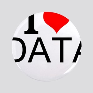 I Love Data Button