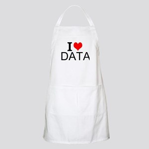 I Love Data Apron