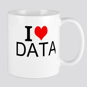 I Love Data Mugs