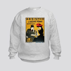 Vintage poster - Absinthe Kids Sweatshirt