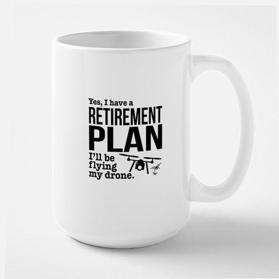 Drone Retirement Plan Mugs