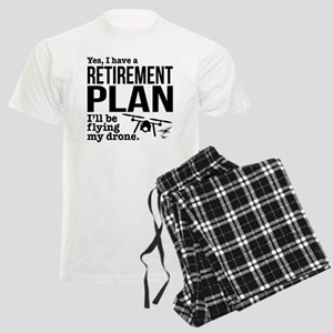 Drone Retirement Plan Men's Light Pajamas