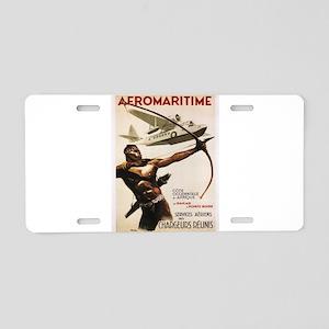Vintage poster - Aeromariti Aluminum License Plate
