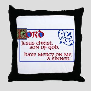 The Jesus Prayer Throw Pillow