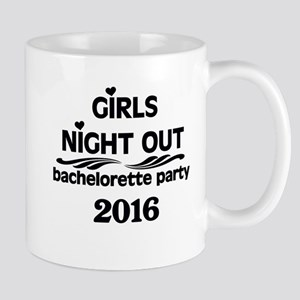 2016 Girls Night Out Black Mug