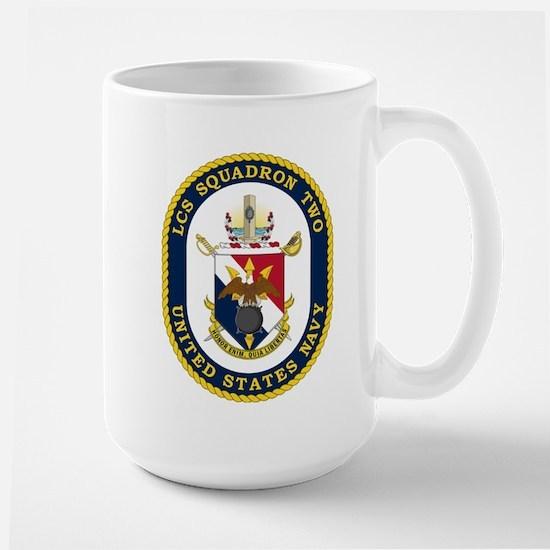LCS Squadron 2 Crest Large Mug