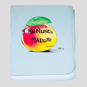 Mango Maduro baby blanket