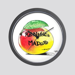 Mango Maduro Wall Clock