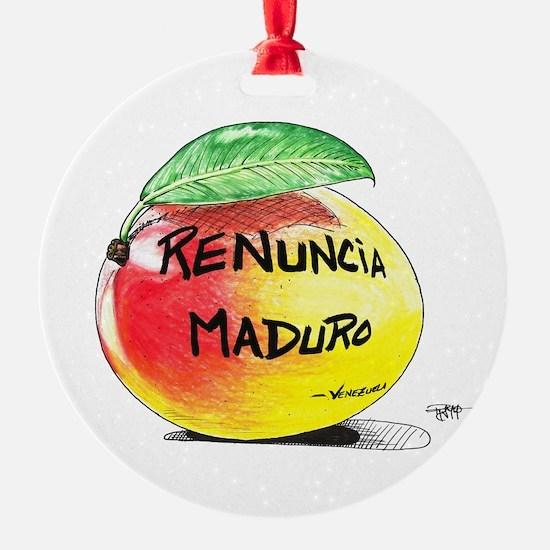 Mango Maduro Ornament